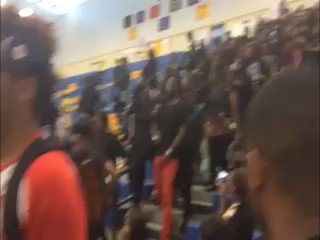 Albany State students protest during ceremony over the new Albany State mission statement. https://t.co/Lb8SupMN9M