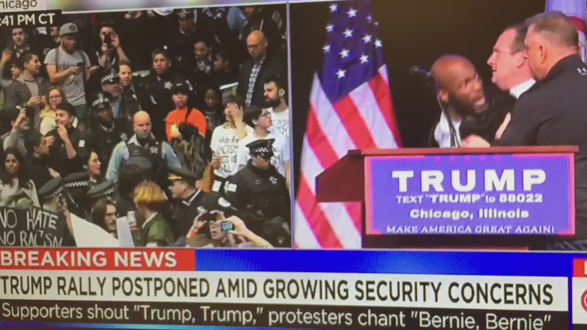This is an absolutely unbelievable scene. Unreal. #TrumpRally https://t.co/EK7gDcQ0CL