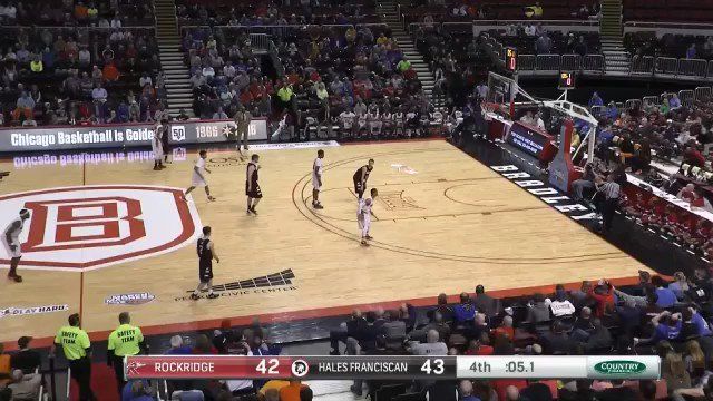 WATCH: #SCtop10 add this to the list; @rockridgesports Carson Frakes clinches an @IHSAState Final bid from 3/4 court https://t.co/6BrahQysZy