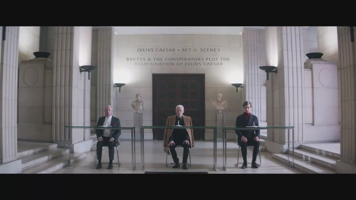 Beware the Ides of March! Today we launch Julius Caesar our newest #ShakespeareLives film https://t.co/zSW7SPcxwy https://t.co/U3Zy4Hkjmw