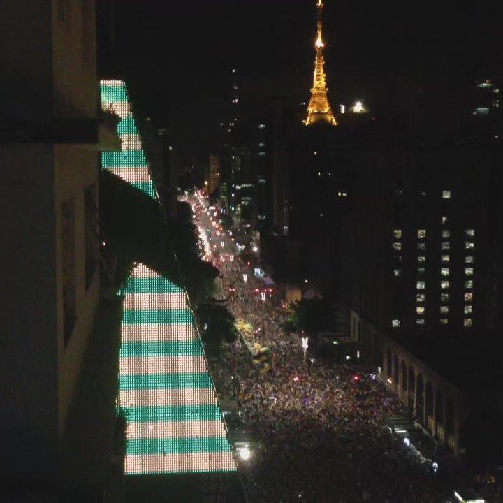 Que coisa linda a Paulista https://t.co/oznYkKuyBU