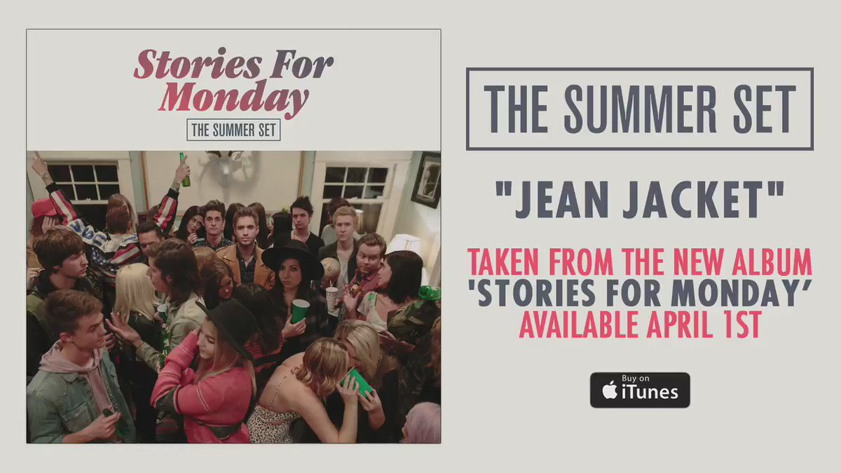 Brand new song. | #JeanJacket | 'Stories For Monday' - https://t.co/dw7sonm12h https://t.co/ip392OyrSV