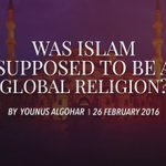 HH #YounusAlGohar on why Islamic #Sharia is incompatible with all nations besides the Arabs: https://t.co/EBRpHgRYFK https://t.co/2bxYFDBZka