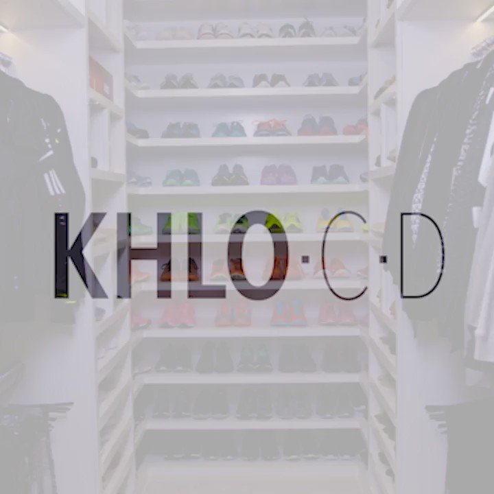 No closet is safe from my #KhloCD!!! My workout closet is on khloewithak! https://t.co/98dvVKLZCv https://t.co/NGF94f95Ab