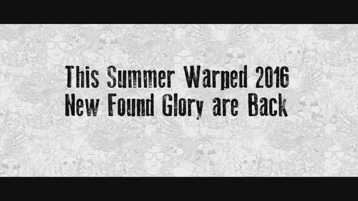Weeeeeeeereeee Baaaaaackkkk!!!! See you at @vanswarpedtour this summer: https://t.co/MiYy1QfMqi https://t.co/2Sn7EQDey9