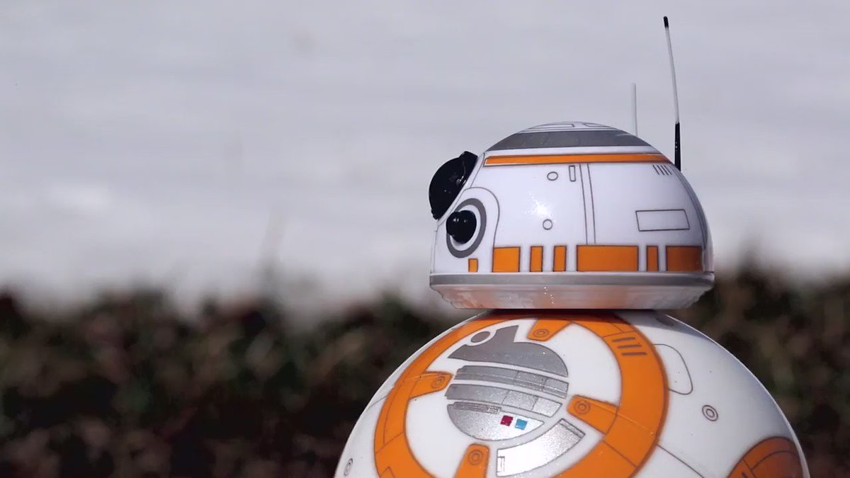 Seasons change, but friends are forever... until they melt. Don't be sad BB-8. He'll be back again next year. https://t.co/Md9nedbgvJ