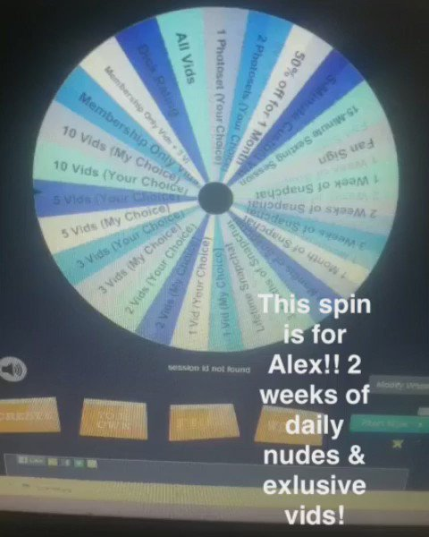 Spin the Prize Wheel & win my #nude #Snapchat, my #porn. & more! Link in my pinned tweet! #bbw #horny