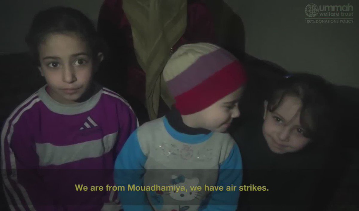 A mother's plight in #Moadamiyeh, #Syria. https://t.co/fsp1sSbyY6