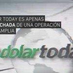 Dolar Today es apenas la punta del iceberg en la #GuerraNoConvencional que enfrenta la patria de Bolívar. https://t.co/ZA1GHr0RUA