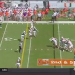Looking at Charone Peake film. Makes Artie Burns his b**** on consecutive plays. 😳 #WRU https://t.co/Qx1rZRXH7R