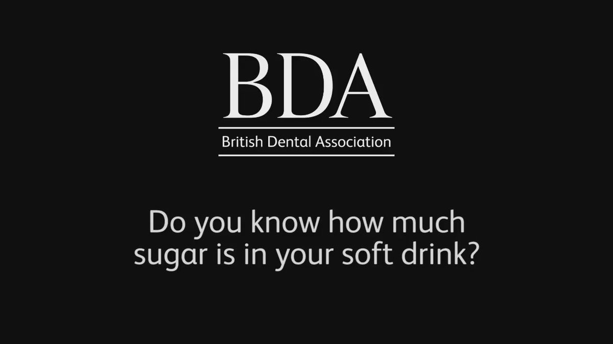 Sugar consumption is driving an epidemic of tooth decay in children. Share this video on hidden sugar in drinks https://t.co/B9dtvraxT7