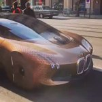 The BMW next vision 100 captured on the streets  https://t.co/81g5hhk6FC