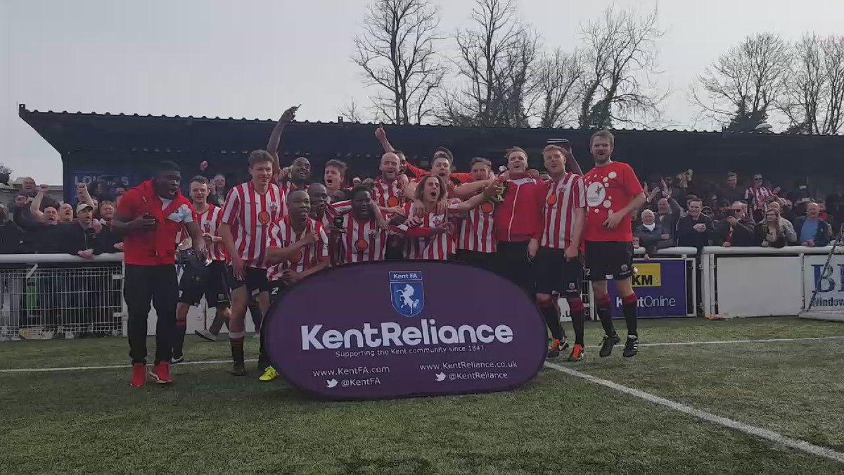 Congratulations to @SheppeyUFC! Winners of the @KentReliance Senior Trophy 2016! #MagicOfTheCup https://t.co/LfmeLmQRzx