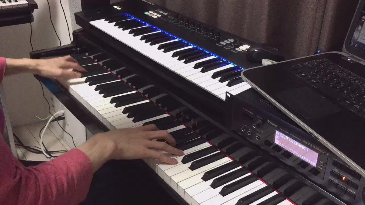 本日の30秒動画はスタイリッシュ高校生なTVアニメ「坂本ですが?」より何かとかかるテーマ曲をピアノで弾いてみました!僕も