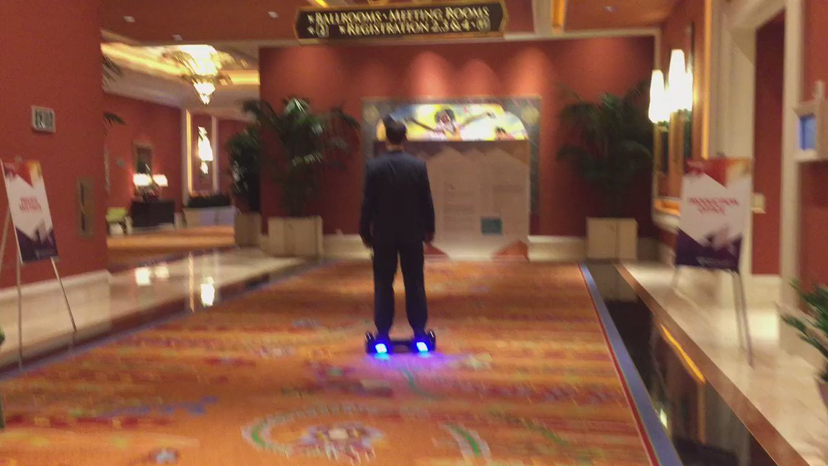 magento_rich: This is probably the best way to get around #MagentoImagine. This place is huge! https://t.co/3zk3rHXAZL