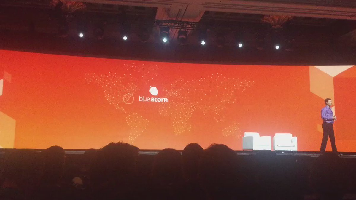 blueacorn: How great is this! @mklave1 telling the story of how @kpe founded Blue Acorn at #MagentoImagine https://t.co/alcwZWioiu