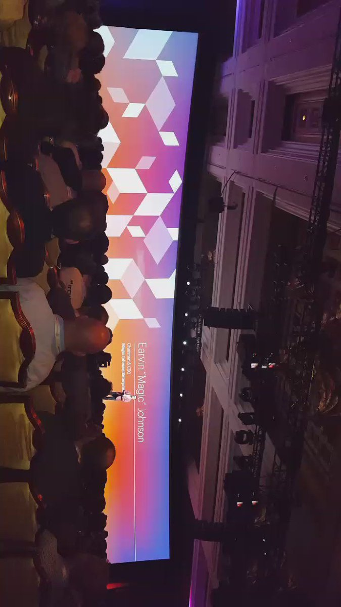 betz826: Welcoming Magic Johnson to #MagentoImagine https://t.co/u1JS250USK