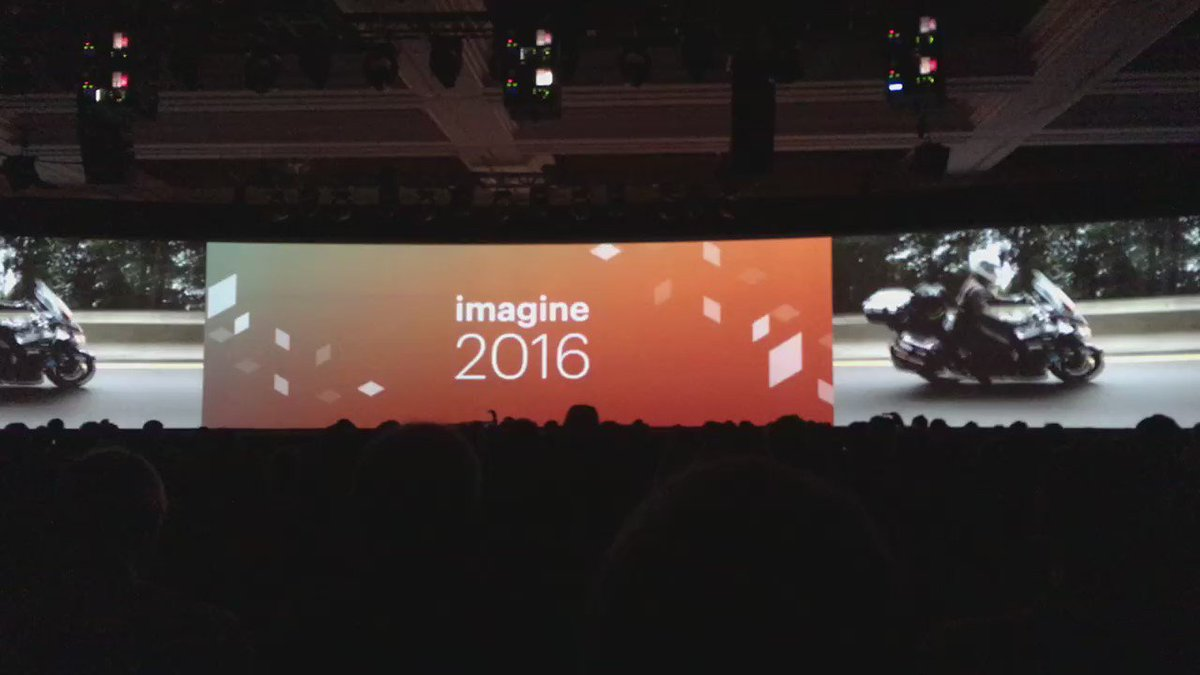 ebizmarts: #MagentoImagine closing keynote kicks off featuring @RoadToImagine, super cool! https://t.co/BcPyQ5NYtS