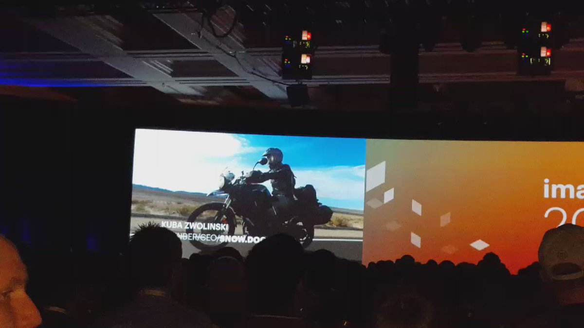 betz826: Let's get the party started at #MagentoImagine! #RoadToImagine  video set the stage for the morning sessions! https://t.co/nFsMBFFMoV
