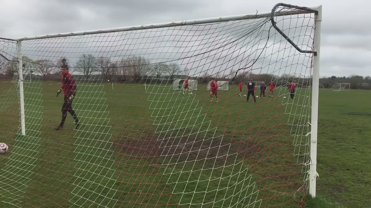 Absolute scenes on the training ground as the Gaffer lobs @jon1flatt Sorry Flatty! #tekkers #johnsonhadadream #ctfc https://t.co/qPVjJEK0g9