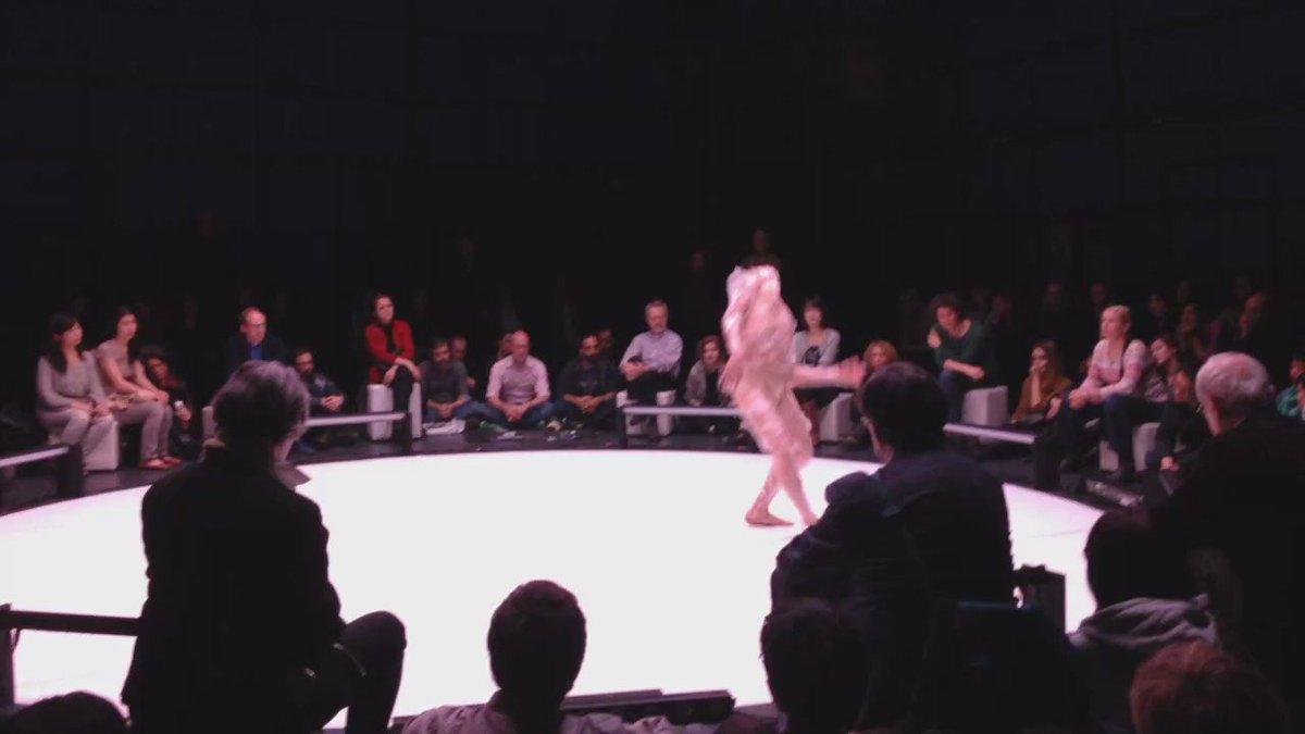 #zkmglobale Mirai Moriyama's Performance 'Upload a New Mind to the Body' at the ZKM_Media Theater! https://t.co/rFbJBgP2og