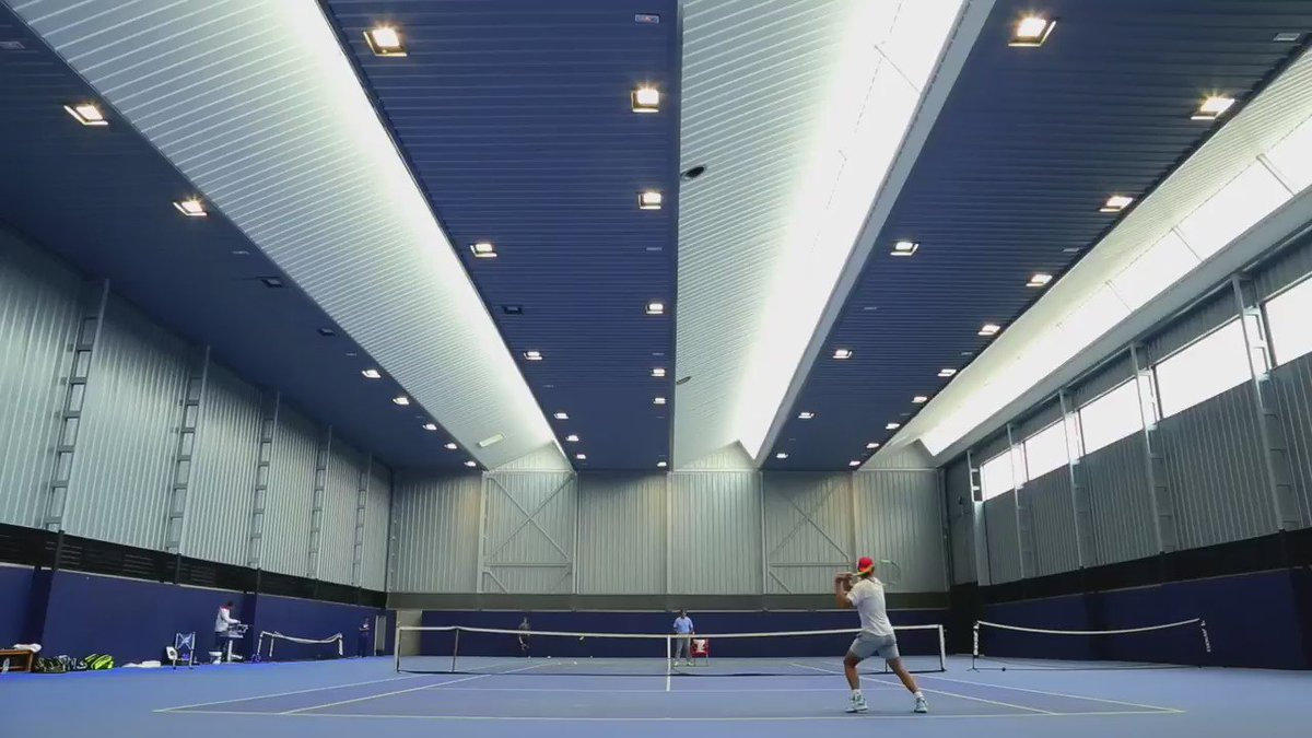 Discover the story behind @RafaelNadal's Pure Aero racket. #SpinMachine  Full video: https://t.co/6Vq3sMTRTZ https://t.co/xuu8Jmt8th