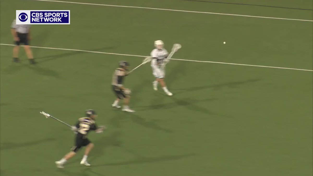 Watch Spencer & Sherlock execute a perfect fake-flip that leads to a Herreweyers goal. @Inside_Lacrosse @LaxFilmRoom https://t.co/hscUQT2Qof