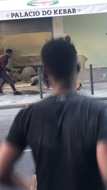 So this happened this morning in Portugal...