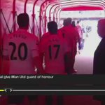 On this day: In 2013, the world watched as RvP was given a guard of honour by Arsenal. https://t.co/zbdaV3oE78