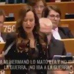 """Teresa Jiménez-Becerril a Otegi: """"A mi hermano lo mató ETA y no iba a ninguna guerra"""".  Alto y claro. https://t.co/rgo5Q7Kw9e"""