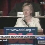 Video of Hillary in 2002 attacking the Bush admin for not providing enough money for police https://t.co/iSCa1ZEPlP