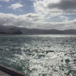 #Wellington Harbour just as the northerly picked up https://t.co/eCkuwDqYFd
