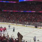 Thats a #HatTrick for the WIN!!!! #caps #caps #RockTheRed @TJOshie77 https://t.co/72qrDU7X5P