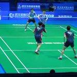 [CUPLIKAN VIDEO] Gideon/Kevin saat melawan Kim/Kim di babak R2 #BAC2016. *PART 1* https://t.co/fY1BcxxIIn