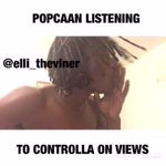 When popcaaan listened to CONTROLLA on drakes new album IG:Elli_theviner https://t.co/ylcolgXtKa