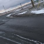 A Rimbuster pothole Ruth Ave on ramp to Pitts Mem - needs to be filled #nltraffic @590VOCM https://t.co/sEiWDVFmfd