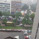 16:02 Kenyatta avenue traffic building up and the flooding is not helping https://t.co/ziJClSCh0o via @chrisHdee