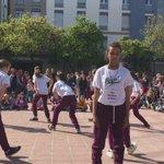 La plaça Miquel Santaló a ritme de hip hop culture. https://t.co/b8a6tJrn8K