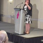 @YBNMB Co-Chair @mirmatheson welcome our Keynote @ClaraHughes_ at #IBAM2016 https://t.co/ppnL8nHF97