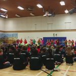 @7OaksSchoolDiv celebrating #InternationalDanceDay at West St. Paul School. Sharing thru dance! https://t.co/YFVDtl9nYP