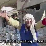 "مؤثر: مواطن سوري صارخا ""يا أمة محمد عم ننباد... نذبح نقتل ياعرب ... يا إسـلام ... #سوريا  #حلب_تحترق https://t.co/0KyiqPQjM0"