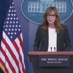 Watch West Wing press secretary C. J. Cregg deliver today's White House press briefing: https://t.co/nPwZyXttI1 https://t.co/GTEWpsLSA8