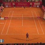 And... BOOM. Air forehand by @NickKyrgios earlier tonight. Moment of the match! #EstorilOpen https://t.co/P0EJ52GTKv