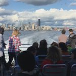Officials said 236 people rode the 5:15 water taxi to West Seattle! Capacity is 278. #99closure #viadoom https://t.co/Pjf272X13z