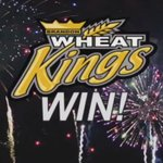 WHEAT KINGS WIN WHEAT KINGS WIN! Your #BWK have defeated the Rebels and are headed back to the WHL Finals! #GoldRush https://t.co/jhfMDUysd6