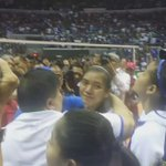 An emotional Alyssa Valdez consoled by former teammate Dennise Lazaro @abscbnsports https://t.co/PKP0taT3GQ