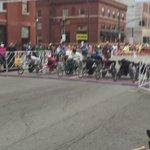 Wheelchair racers are a go! @WLKY @KyDerbyFestival https://t.co/iYtG4otzQx