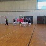 Os equipos comezan os exercicios de quecemento! @Santiago_Futsal @SD_PAZOS_FS  as 17:00 comeza a primeira semifinal https://t.co/htGFNyfAr3