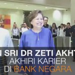 #AWANInews [VIDEO] Terima kasih segalanya, Tan Sri Dr Zeti. https://t.co/05xis1ZeOy