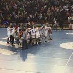 60 final de partido| @ADEMARLEON 29-28 @NaturhouseRioja @McDonaldsLeon ¡qué final! #ademarAluchar https://t.co/jLR6bWXjMg